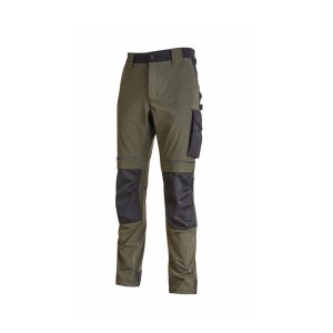 U Power Atom Pantalone da Lavoro Invernale Dark Green PE145DG