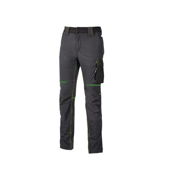 U Power World Asphalt Grey Green FU189RL Pantalone da Lavoro