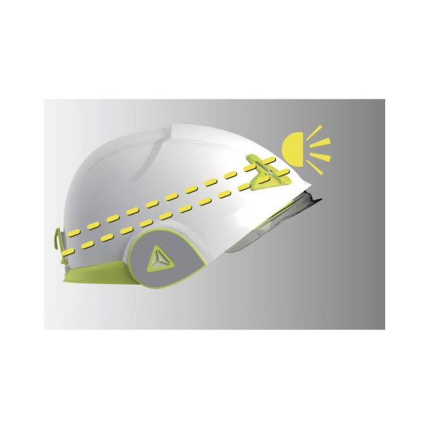 Delta Plus Onyx bianco casco di sicurezza per lavori in quota con protezione dai rischi elettrici