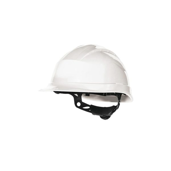 Delta Plus Quartz Up 3 bianco elmetto di sicurezza da cantiere
