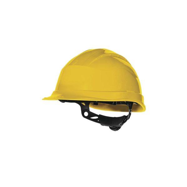 Delta Plus Quartz Up 3 giallo elmetto di sicurezza da cantiere
