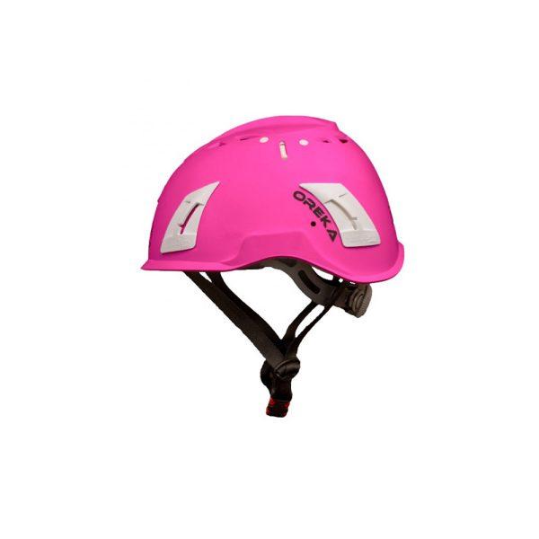 Irudek Oreka casco di sicurezza Rosa per lavori in quota EN397