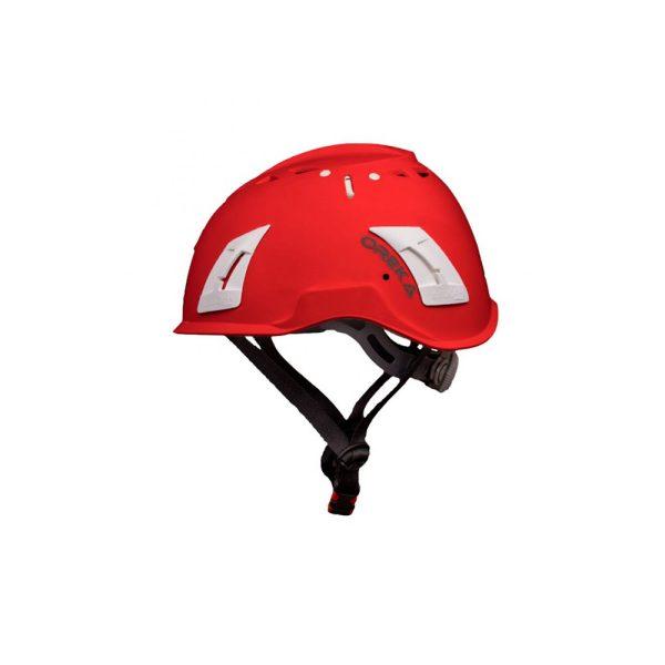 Irudek Oreka casco di sicurezza Rosso per lavori in quota EN397