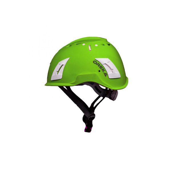 Irudek Oreka casco di sicurezza Verde per lavori in quota EN397