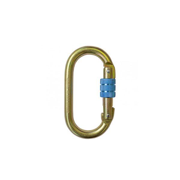 Irudek Sekuralt 981 moschettone screw lock in alluminio 102300900002