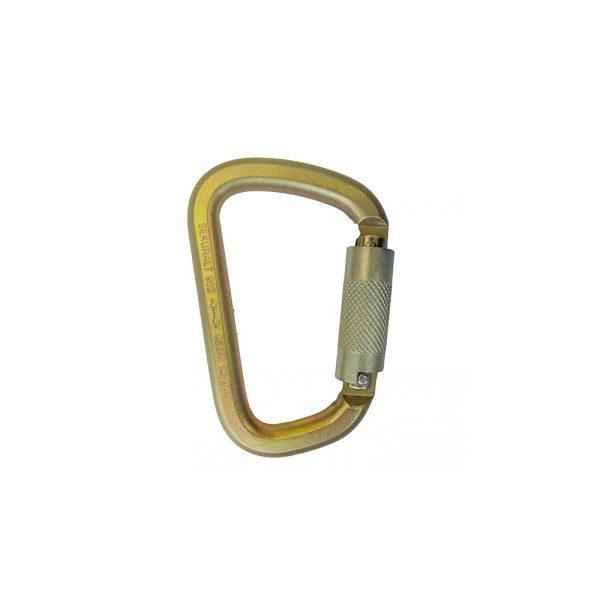Irudek Sekuralt 982 moschettone twist lock in acciaio 102300900005