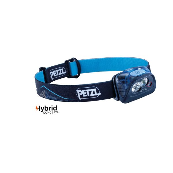 Petzl Actik blu lampada frontale multifunzione E099FA01