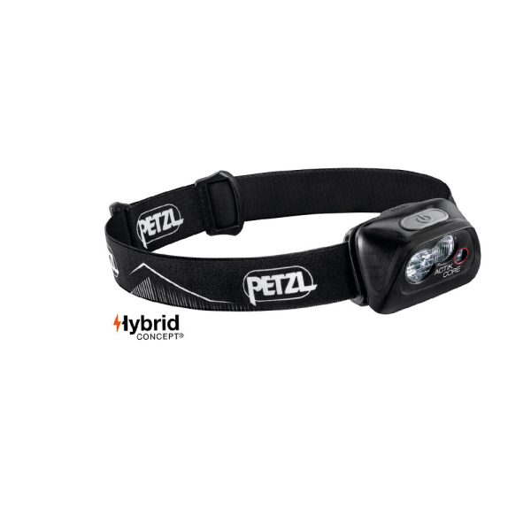 Petzl Actik Core nero lampada frontale ricaricabile E099GA00