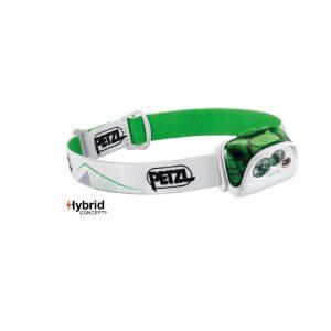 Petzl Actik verde lampada frontale multifunzione E099FA02