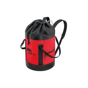 Petzl Bucket 25 litri rossa sacca porta d.p.i. anticaduta S41AR025