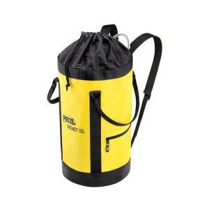 Petzl Bucket 35 litri gialla sacca porta d.p.i. anticaduta S41AY035