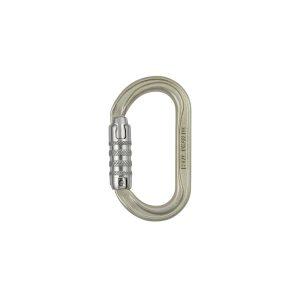Petzl Oxan Triact-lock moschettone ovale in acciaio ad alta resistenza