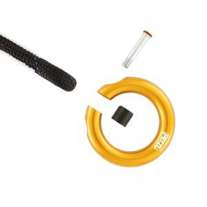 Petzl Ring Open anello di collegamento apribile multidirezionale Cod. P28