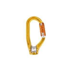 Petzl Rollclip A moschettone con carrucola integrata ad alte prestazioni