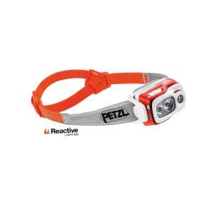 Petzl Swift RL Arancio lampada frontale ricaricabile swift E095BA01