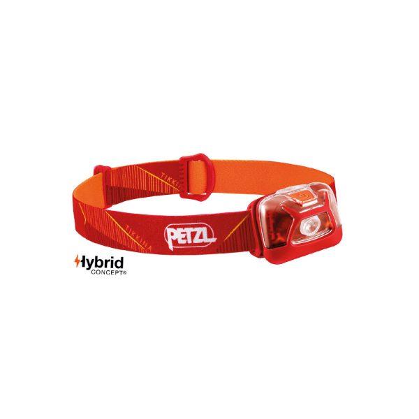 Petzl Tikkina rosso lampada frontale semplice compatta E091DA01