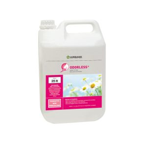 Airbank Odorless 25 litri rimotore di odori biologico per cassonetti dei rifiuti