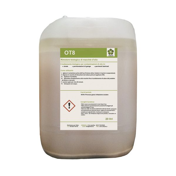 Airbank OT8 tanica da 20 litri liquido enzimatico per rimozione idrocarburi