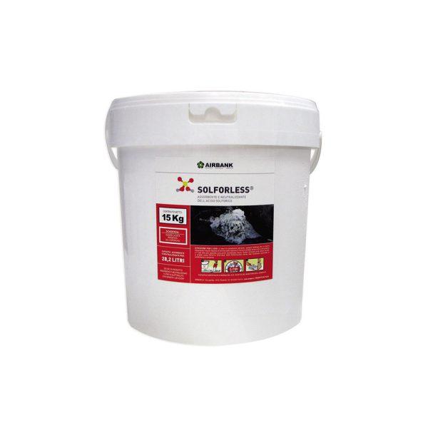 Airbank Solforless assorbente e neutralizzante per acido solforico batterie