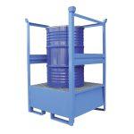 Airbank vasca di raccolta in acciaio per 1 fusto da 200 litri verniciata