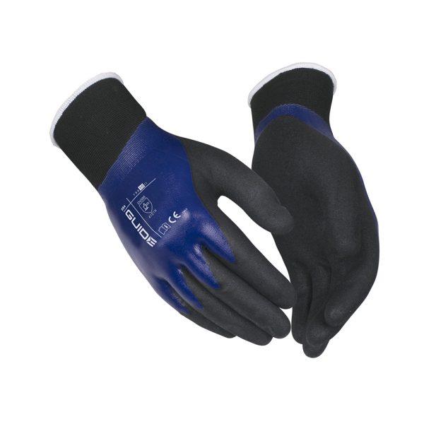 Guide Gloves Guide 594 guanto da lavoro spalmato in nitrile - 6 Pezzi