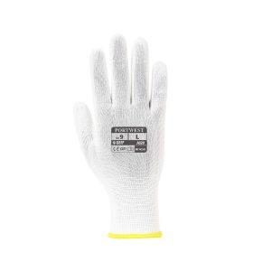 Portwest Assembly A020 WHR guanto da lavoro leggero in nylon bianco