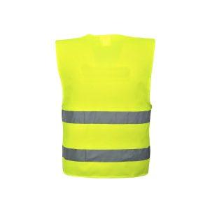 Portwest C474 YER gilet alta visibilità giallo 2 bande EN ISO 20471