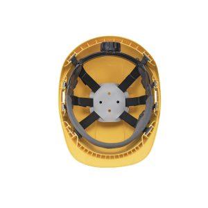 Portwest Endurance Plus PW54YER elmetto da cantiere giallo con visiera