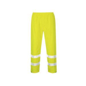 Portwest H441 YER copripantalone alta visibilità antipioggia giallo