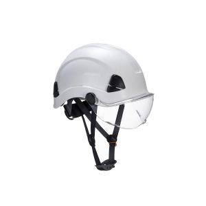 Portwest Height Endurance visiera di protezione trasparente per elmetto