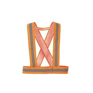 Portwest HV55ORR bretella alta visibilità arancione con velcro
