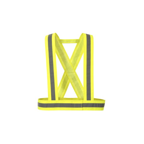 Portwest HV55YER bretella alta visibilità giallo con velcro