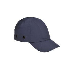 Portwest PW59 cappellino antiurto con visera blu navy EN812