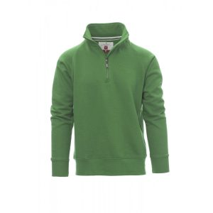 Felpa uomo mezza zip Payper Wear Miami + Jelly Green