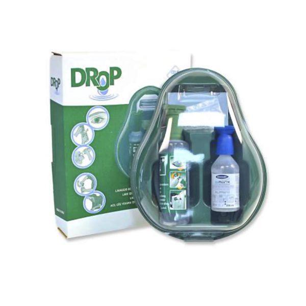 PVS Dual Drop stazione di lavaggio oculare portatile di emergenza
