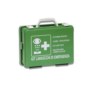 PVS kit lavaocchi di emergenza portatile in valigetta pronto all'uso CPS258