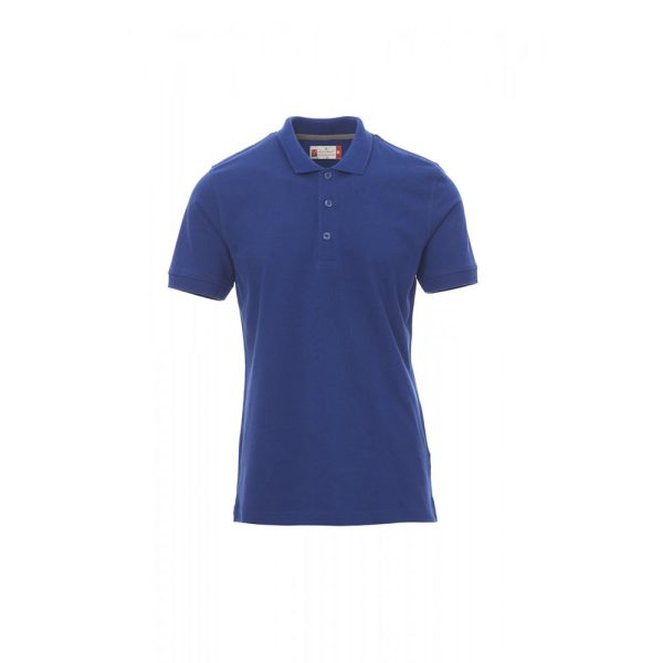 Polo uomo manica corta Payper Venice Blu Royal 100% Cotone