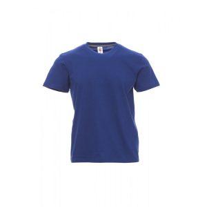 T-Shirt da uomo girocollo Payper Sunset Blu Royal 100% Cotone