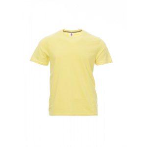 T-Shirt da uomo girocollo Payper Sunset Lime Light 100% Cotone