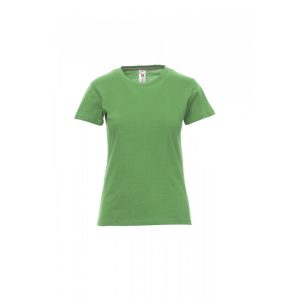 T-shirt donna girocollo Payper Sunset Lady Jelly Green 100% Cotone