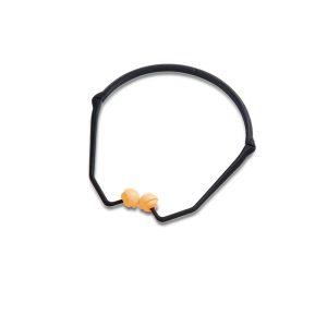 Honeywell archetto auricolare antirumore pieghevole Percap con tamponi auricolari sostituibili SNR 24 db